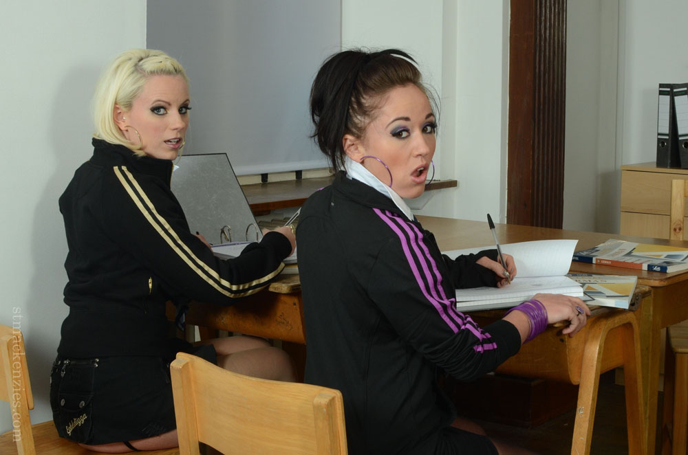 Billie Evans and Mercedes Marston are in real Trouble with Miss Cox at St MacKenzies