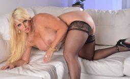 Alura Jensen Big Tits and Stockings