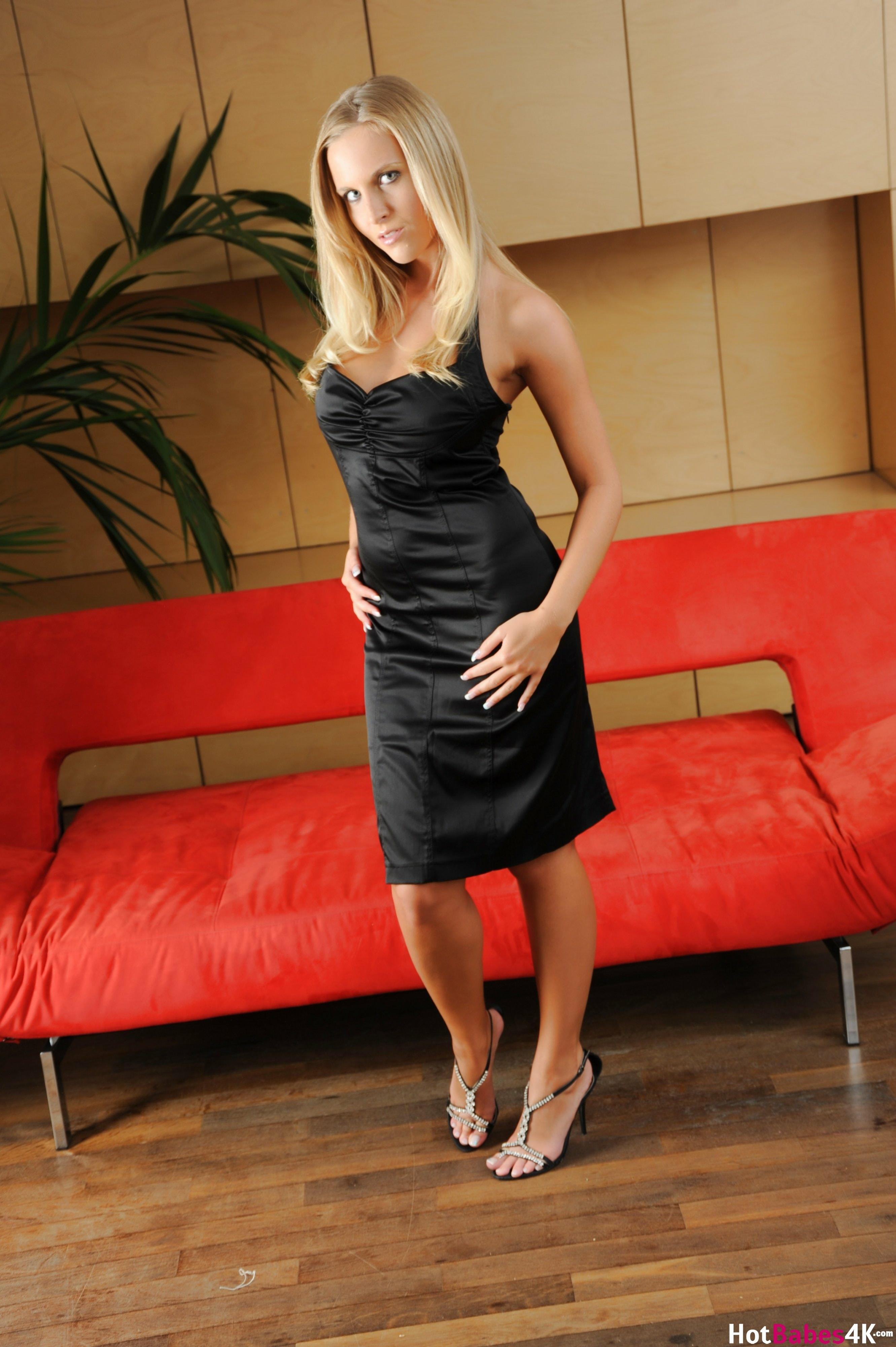 Cikita Big Tits in Sexy Tight Black Dress