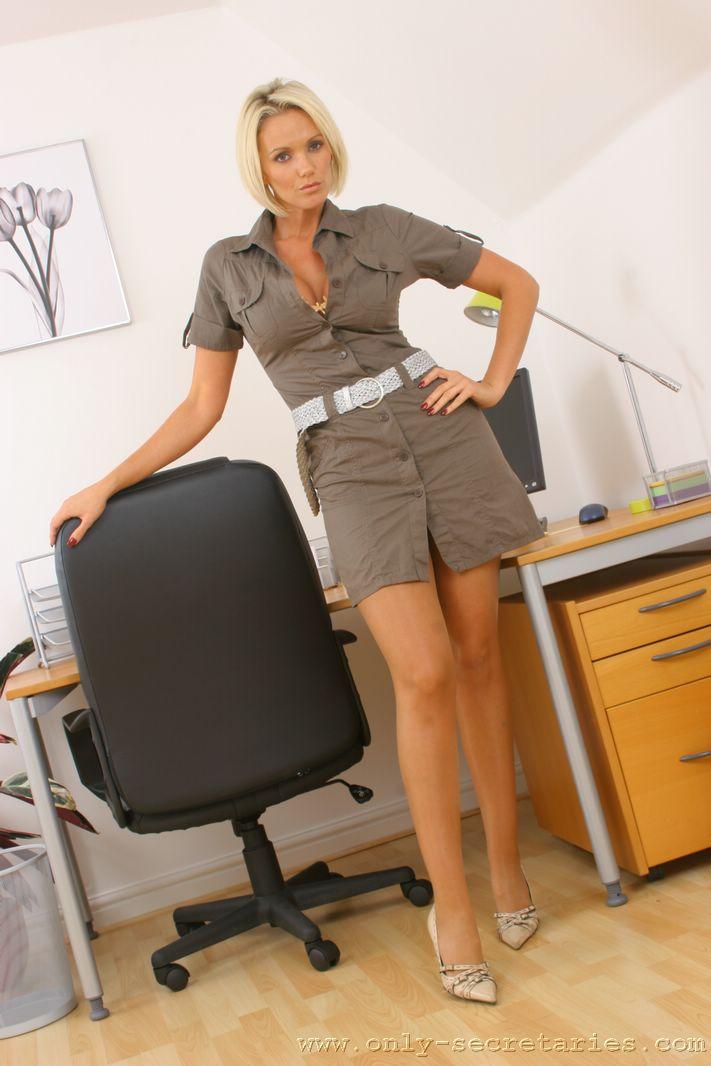 Lucy Zara Big Tit Blonde Secretary