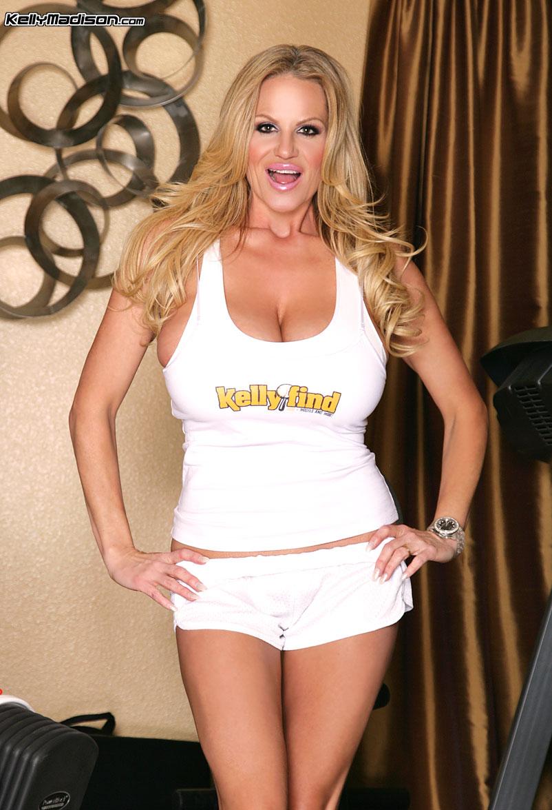 Kelly Madison Huge Tit Gym Girl