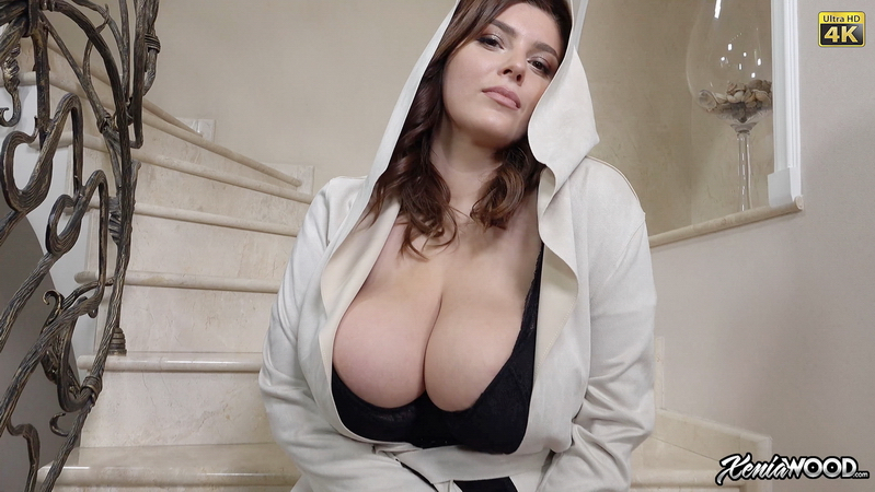 Xenia Wood Huge Tits  Hanging Out in Hoodie