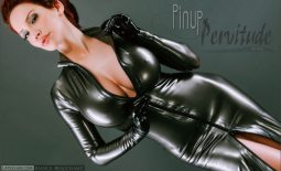 Bianca Beauchamp Huge Tits in Tight Latex Minidress