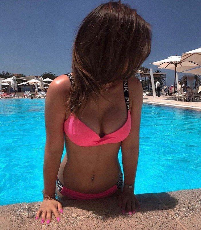 Faiir07 Big Tits in Sexy Pink Bikini