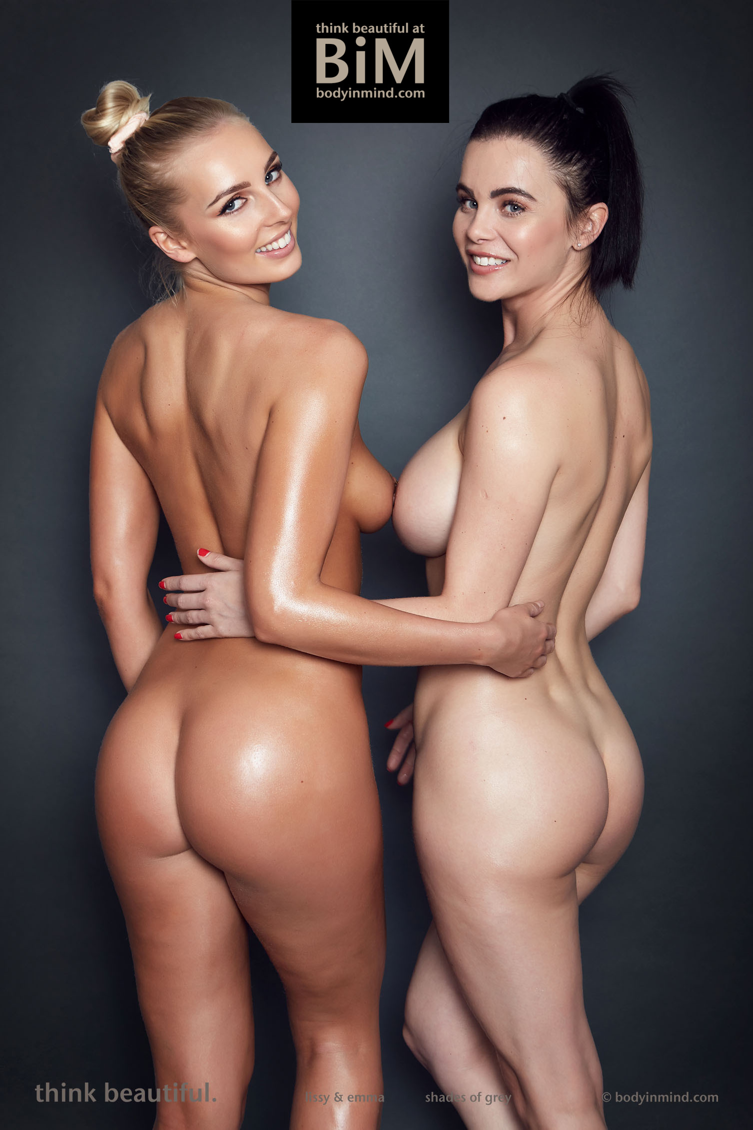 Lissy Cunningham and Emma Glover Have Big Boobs All Girl Fun for Body in Mind