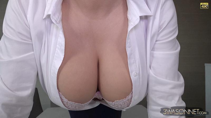 Ewa Sonnet Huge Tit Sexy Business Lady