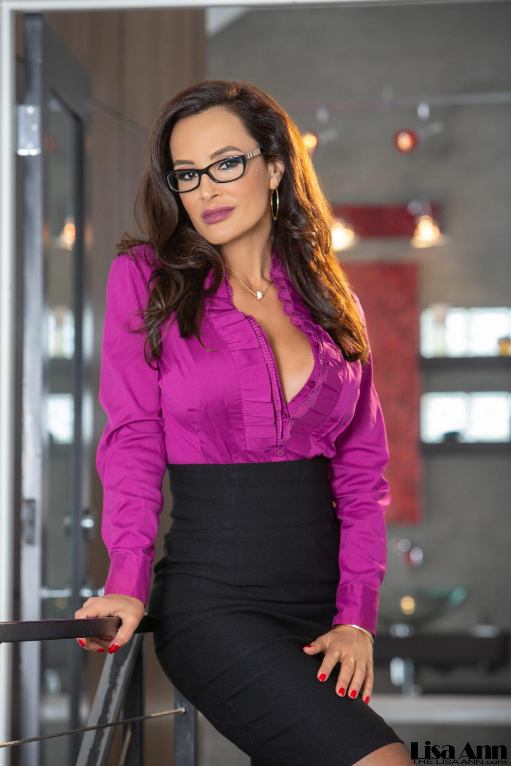 Lisa Ann Big Tit Tight Skirt Secretary