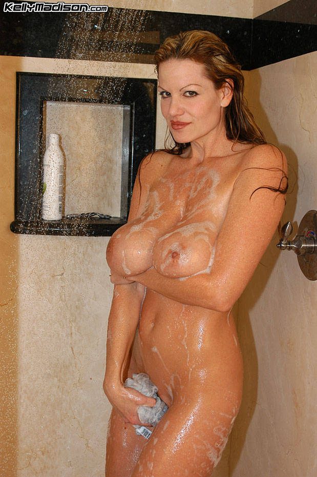 Kelly Madison Huge Tit Shower Time