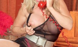 Jenna Lynn Big Tits in Black Negligee