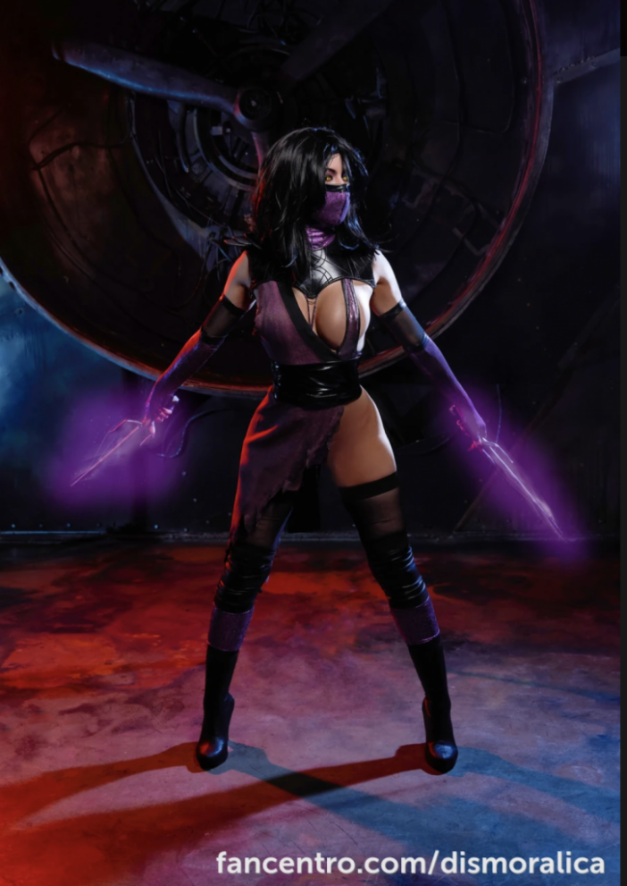 Dismoralica is a big tit Cosplay Girl