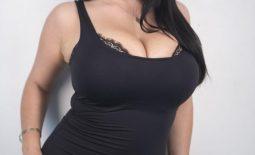 Angela White Big Tits in Little Black Dress