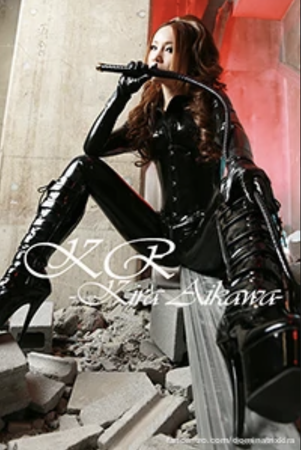 Mistress Kira Japanese Latex femdom