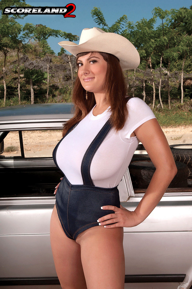 Valory Irene Big Tits on the Ranch