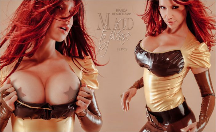 Bianca Beauchamp Huge Tit Latex Babe