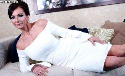 Catalina Cruz Huge Tits in Tight White Dress