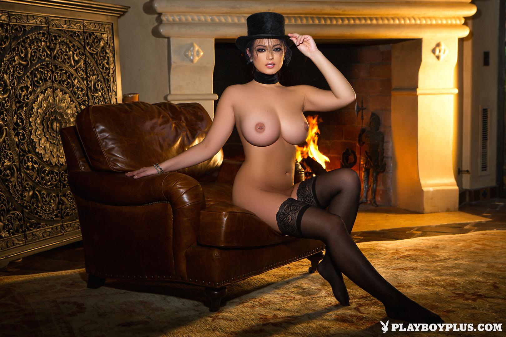 Chelsie Aryn Big Boobs Riding Outfit