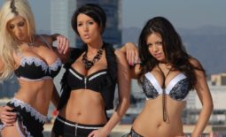 Dylan Ryder, Puma Swede and Yurizan Beltran in Big Boob Lingerie Together