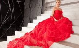 Kitana Lure Big Boob Blonde in Formal Gowns