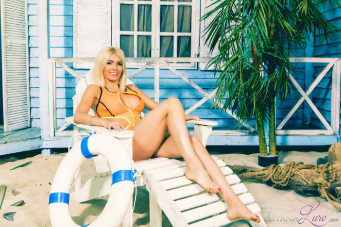 Kitana Lure Big Boobs Naked Beachwear