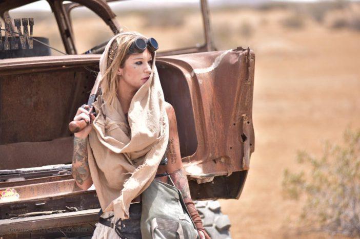 Kleio Valentien Big Tit Desert Lesbian Warrior