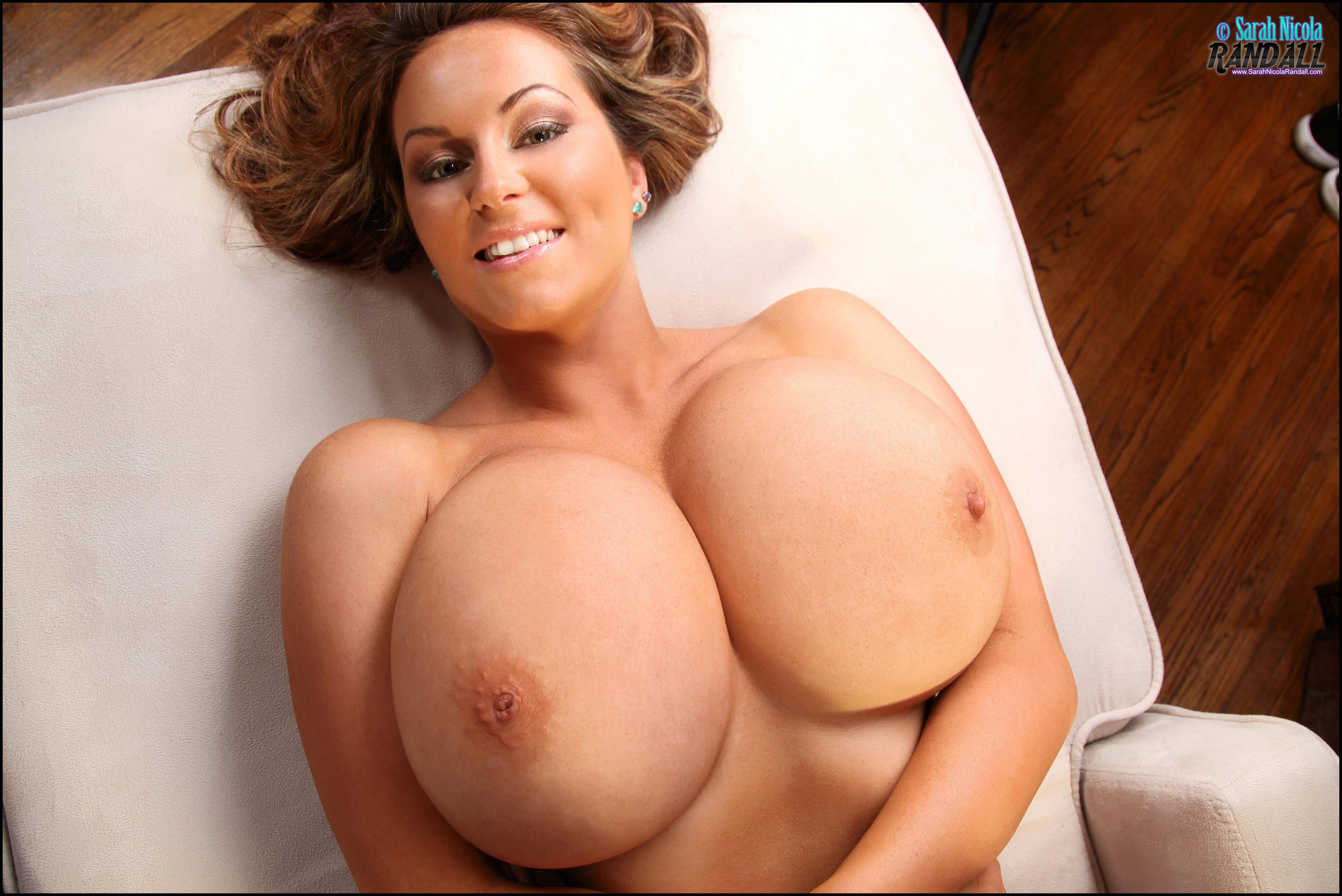 Sarah Nicola Randall Massive Tits and Lavender Panties