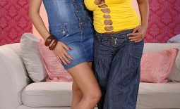 Sensual Jane and Jasmine Black in Big Naked Boob Suckfest